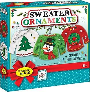 Creativity for Kids 毛衣装饰 - 创建 3 个丑毛衣装饰