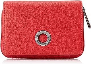 Mandarina Duck Mellow Leather 女式钱包,红色(火焰红),3x10x14 厘米(宽 x 高 x 长)
