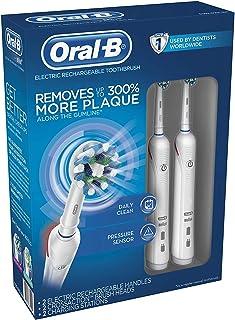 Oral-B 歐樂B CrossAction 電動牙線刷,2只裝