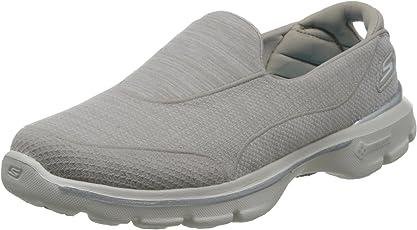 Skechers 斯凯奇 GO WALK 3系列 女 轻质一脚蹬健步鞋 14046C/S TN 石头色 40 (US 10)