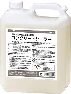 DAICA 达卡 混凝土密封器 4kg 耐碱性 混凝土 MARTAL 防尘 加工剂 业务用 室内用