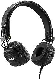 Marshall 马歇尔 Major III 折叠式耳机——黑色