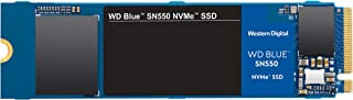Western Digital Blue SN550 NVMe 内置固态硬盘 Gen3 x4 PCIe 8Gb/s  M.2 2280 3D NAND 高达2,400MB/s WDS500G2B0C 500GB