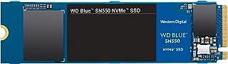WD 西部数据 蓝色 SN550 500GB Nvme 内置固态硬盘 - Gen3 PCIe 8 GB/s ,M.2 2280,3D 无,高达 2 ,400 MB/S - WDS500G2B0C