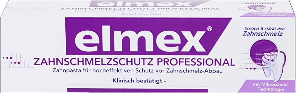 elmex 保护珐琅质专业牙膏,3支(3 x 75毫升)