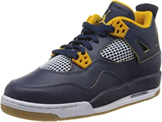 Nike Jordan Kids Air Jordan 4 Retro BG Basketball Shoe 海外直邮 【亚马逊海外卖家】