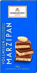 Niederegger Marzipan 经典*吧 - 牛奶,3.88 盎司(10 支装)