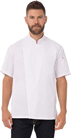 Chef Works 男式 Springfield 厨师外套,白色,2XL 码