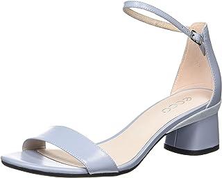 ECCO 女士 Elevate 45 Block 踝带高跟凉鞋