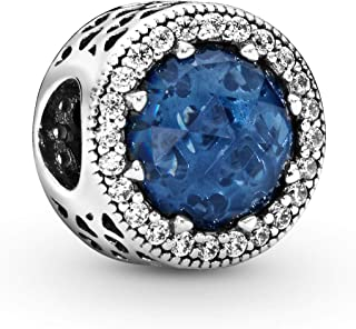 Pandora 潘多拉 女士银珠饰——791725NMB,蓝色