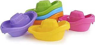 Munchkin 洗澡玩具,小船火车,6 只装