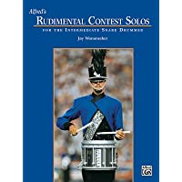 Alfred's Rudimental Contest Solos: For the Intermediate Snare Drummer