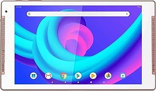 Logicom 平板电脑支架带触摸屏(高清显示屏:10.1英寸 – 32 GB – Android 9.0英尺)粉红色 带内置支架