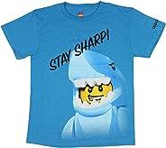LEGO Stay Sharp Legoman Shark 青年男孩短袖 T 恤