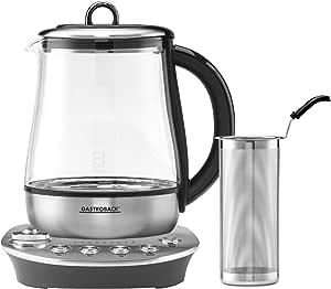 Gastroback 42434 电热水壶,银色,黑色