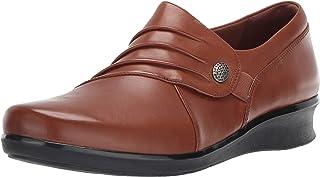 Clarks 女式 Hope Roxanne 乐福鞋