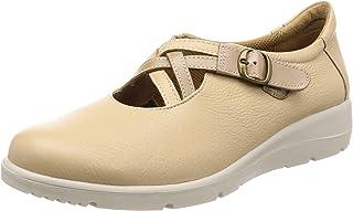 [SPURS] 日本制造 真皮 防水 轻量 4E 吸收冲击 舒适鞋 女士 SP5130