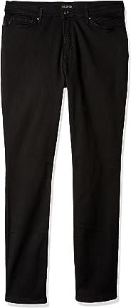 LEE 女式加长款修身直筒牛仔裤