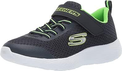 Skechers 斯凯奇 男童 Dyna-lite 运动鞋 黑色/皇家蓝 Blau (Navy Lime Nlm) 27 EU