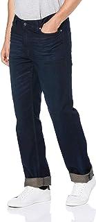 Calvin Klein 男式直筒牛仔裤