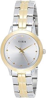 Guess Chelsea 石英银色表盘女士双色手表 W0989L8