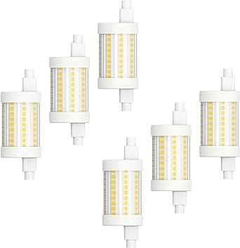 MÜLLER 灯 R7s,多种用途广泛 白色 6er-Set 400386_Set