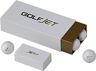 GolfJet JET2 包 | 12 个高级 JET2 高尔夫球。 Power Core,柔软 338 Dimple Hex Aero 聚氨酯罩。 更长的火焰驱动,改进的游戏旋转,2层球带来*的感觉,改善控制能力。