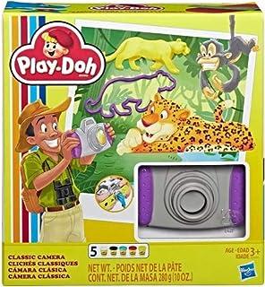 Play-Doh 复古灵感经典相机玩具