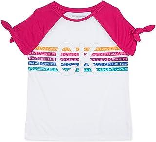 Calvin Klein 卡尔文·克莱恩 大女童 露肩T恤