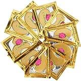 30 对 24K 金粉水晶凝胶胶原蛋白眼膜 - 用于*和保湿;减少黑眼圈、浮肿、皱纹 - L'Amour