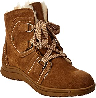 Bearpaw Justine 女式舒适短靴 - 2326w 山核桃色 - 11 中号