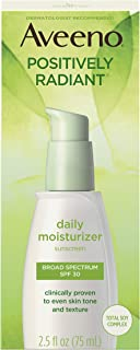 AVEENO Active Naturals Positively Radiant Daily Moisturizer SPF 30 2.50 oz