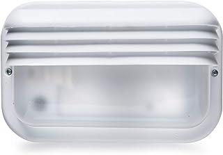 Famatel 4414-G 户外壁灯,IP44,插座E-27,防潮,白色