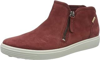 Ecco Women's Soft 7 Low Cut Zip Fashion Sneaker