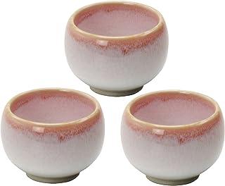 美浓烧 杯子 3个套装 樱花流器 407-29-41E(3)