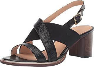 Clarks Ellis Tilda 女士高跟凉鞋,皮革