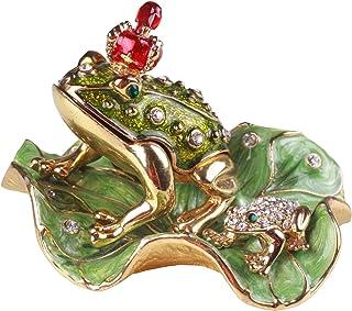 PIEARTH 首饰盒 皇冠青蛙 230-1