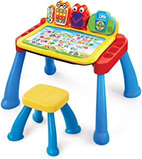Vtech 偉易達玩具點觸學習桌 多功能玩具臺游戲桌兒童早教益智力玩具