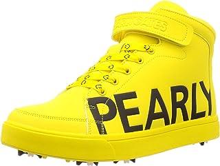 [派瑞盖茨] 男士 高尔夫鞋 侧标志 中帮 (PG带粉刺绳) MENS / 053-0192311