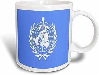 3drose florene patriotic–世界卫生组织国旗–马克杯 白色 11-oz