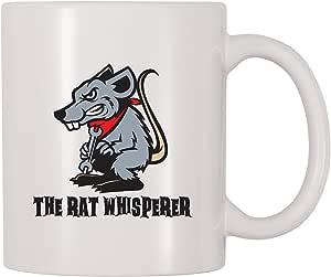 4 All Times The Rat Whisperer 咖啡杯 白色 11 oz Mug17377