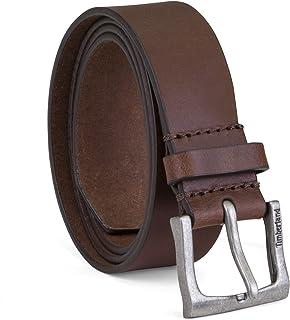 Timberland 男士 35 毫米经典皮腰带