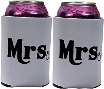 Blue Loon 可折叠罐冷却器 White Mrs & Mrs 12oz BL7631986