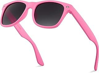儿童柔软触感哑光镜框太阳镜3–12岁–多种画框颜色