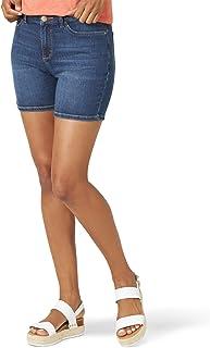 LEE 女式常规版 5 英寸牛仔短裤