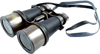 iba、露营双筒望远镜海盗纯色太空玻璃印度装饰航海装饰 黑色和古董金色