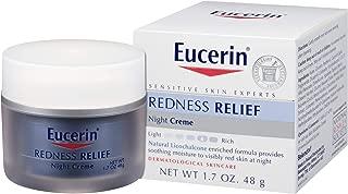 Eucerin 優色林 泛紅舒緩晚霜 - 溫和補水,在夜間減少肌膚泛紅 1.7盎司罐裝(48g)
