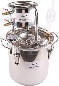 WMN_TRULYSTEP MSS03_US_WS 锅炉葡萄*精油水酿造套件 亮灰色 20 Litres / 5 Gallon