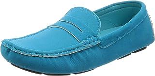[Righttonhouse] 男士 驾车鞋 休闲运动鞋 绒面革 皮鞋 商务 赤脚感觉 LAS-303