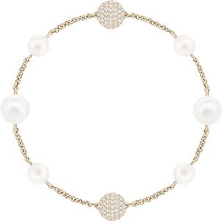 施华洛世奇 Remix 系列混合白色水晶珍珠,玫瑰金